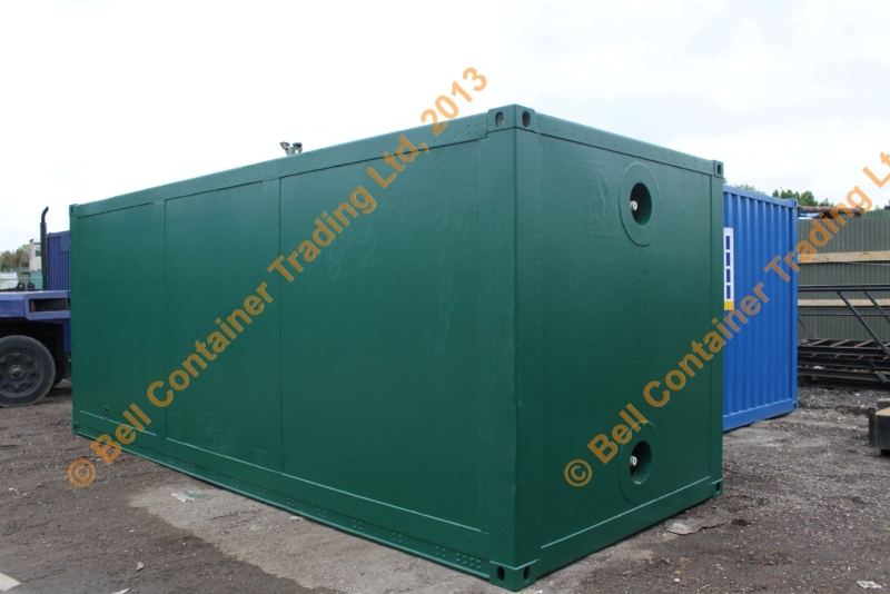 insulated shipping container green