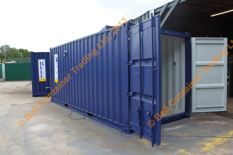 side aspect container conversion office unit
